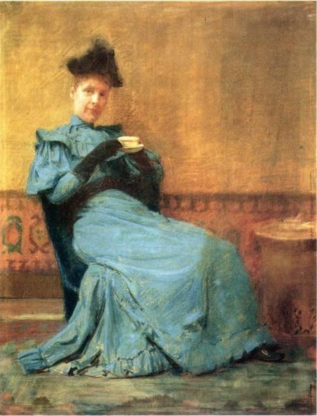 Portrait of Mrs Anschutz